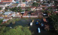 San Cristobal Alta Verapaz, es la comunidad m‡s cercana a Quej‡ en donde m‡s de 50 viviendas fueron soterradas por un alud y que tambiŽn enfrenta graves problemas por las inundaciones durante el paso de la tormenta ETA  foto Carlos Hern‡ndez  18/11/2020