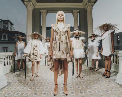 La marca panameña Christian Olarte dijo 'presente' en la séptima edición del Guatemala Fashion Week. (Foto Prensa Libre: Cortesía GTFW)