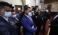 El ministro de Gobernación, Gendry Reyes, será interpelado por el Congreso a solicitud de la bancada Semilla. (Foto Prensa Libre: Hemeroteca)