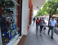 Las autoridades confirmaron que la economía de Guatemala en 2020 cerrará en -1.5%, a pesar de que el Imae mostró una recuperación positiva en octubre. (Foto Prensa Libre: Hemeroteca)