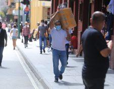 El IVA doméstico que registra el consumo mejoró su recaudación en parte por los programas sociales por el covid-19. (Foto Prensa Libre: Hemeroteca)