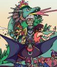 La serie de libros  consiste en ficciones animadas que se inspiran de la cultura maya. (Foto Prensa Libre: Cortesía Lluvia de Ideas)