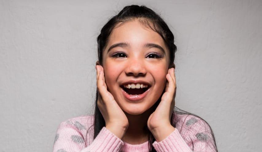 Nahiara Flores, ganadora de #YoTeCantoEnCasa edición niños