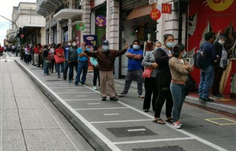 Guatemala enfrenta la segunda ola de contagios de coronavirus. (Foto Prensa Libre: Érick Ávila)