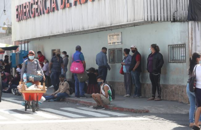 Guatemala supera los 114 mil contagios de coronavirus. (Foto Prensa Libre: Érick Ávila)