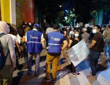 La PDH condenó ataques contra su personal, periodistas y manifestantes pacíficos de las últimas protestas contra el Gobierno. (Foto: PDH)