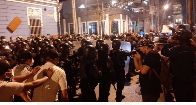 Gobernación señala que la PDH no actuó en mediación ante disturbios del 28 de noviembre