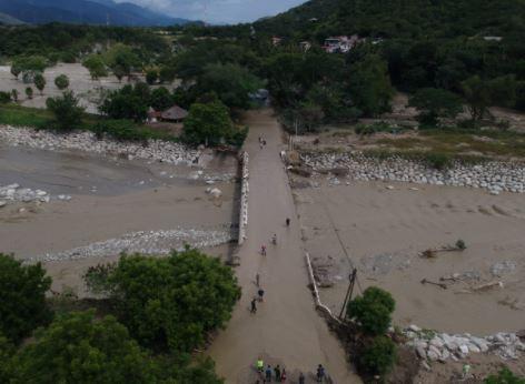 Los daños a los cultivos por la tormenta Eta es en Quiché, Alta Verapaz, Petén, Izabal y Zacapa, según el recuento preliminar. (Foto Prensa Libre: Carlos Hernández Ovalle)