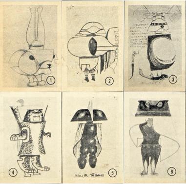 Diciembre 1979: Los robots futurista que diseñó Efraín Recinos y contaban la historia del Popol Vuh
