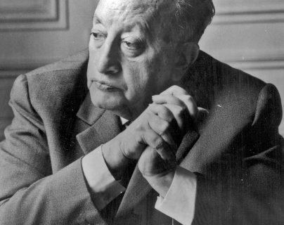 Retrato de Miguel Ángel Asturias (1899-1974), Premio Nobel de Literatura 1967. Foto familiar gentileza de su hijo, Miguel Ángel Asturias Amado.