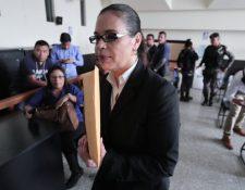 La exvicepresidenta Roxana Baldetti. (Foto Prensa Libre: Hemeroteca PL)