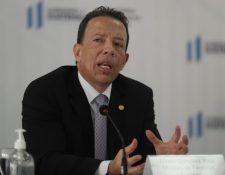 El ministro de Finanzas Álvaro González Ricci reconoció las demandas para cambiar el Presupuesto 2021. (Foto Prensa Libre: Esbin García)