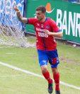 Ramiro Roca podría convertirse en goleador del torneo si continúa con la buena racha que tiene. (Foto Prensa Libre: CSD Municipal)