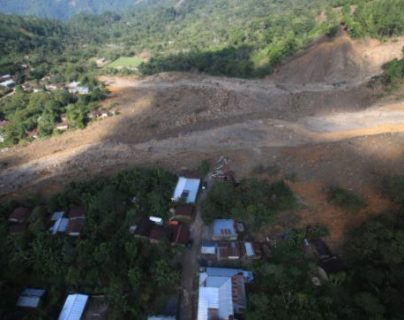 Guatemala y Honduras pidieron apoyo a Cepal para el recuento de los daños causados por la tormenta Eta. (Foto Prensa Libre: Carlos Hernández Ovalle)