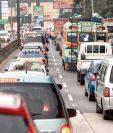 El parque vehicular activo en Guatemala es de cuatro millones 94 mil 289 automotores, según la SAT. (Foto HemerotecaPL)