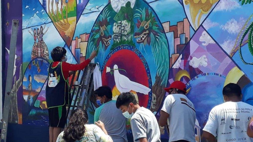 Pequeño artista de El Progreso