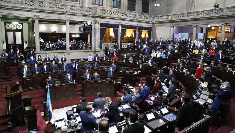 La ratificación del estado de Calamidad por los daños causados por Eta, fue autorizado pasando las cuatro de la mañana del miércoles 11 de noviembre.  Fotografía: Congreso.