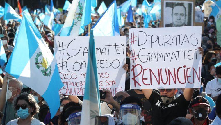 Presupuesto 2021: Las imágenes que marcaron la jornada de manifestaciones  en Guatemala – Prensa Libre