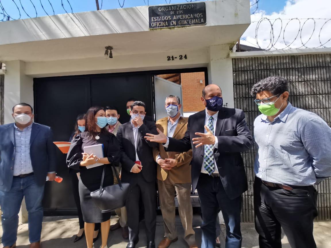 Diputados de oposición señalan a OEA sobre posible cooptación de instituciones del Estado por parte del gobierno y sus aliados
