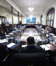 Las bancadas de oposición se negaron a asistir a la sesión de Jefes de Bloque convocada para este domingo, dudan de las intenciones que pueda tener la Junta Directiva y sus aliados. Fotografía: Congreso.