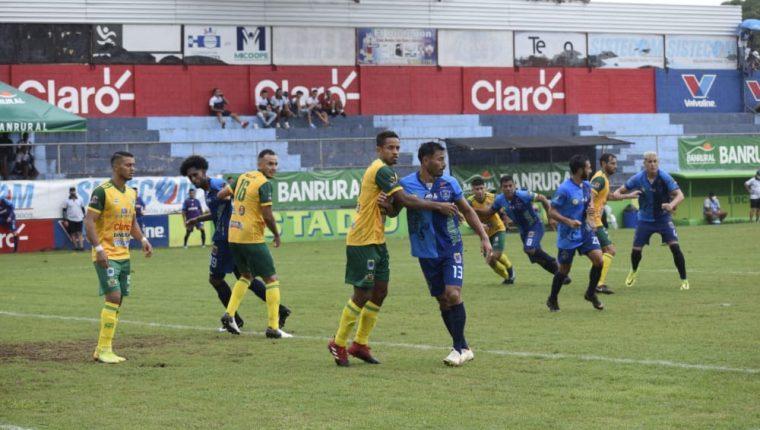 Santa Lucía Cotz. y Guastatoya empataron a cero en la jornada 11 del Torneo Apertura 2020. (Foto Prensa Libre: Cortesía Andrés ADF)