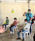 El partido UNE se siguieron protocolos realizó asambleas el fin de semana. (Foto, Prensa Libre: cortesía)