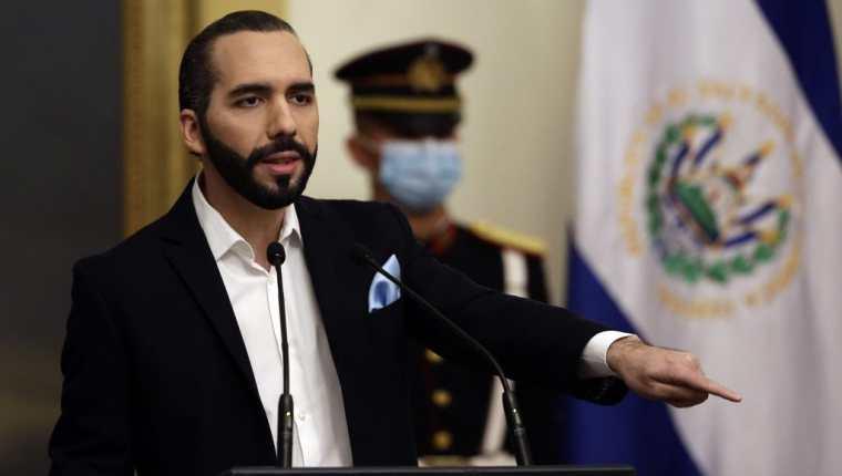 El presidente de El Salvador, Nayib Bukele, decretó Día Nacional de Oración ante la llegada de Iota. (Foto Prensa Libre: AFP)