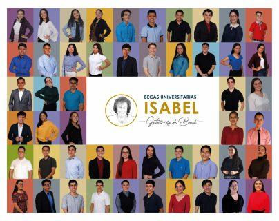Cincuenta jóvenes fueron beneficiados con Becas Universitarias Isabel Gutiérrez de Bosch. (Foto Prensa Libre: Cortesía)