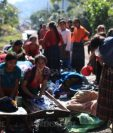Ciento de personas en Alta Verapaz se quedaron sin hogar debido a los daños provocados por la tormenta ETA. (Foto Prensa Libre: Carlos Hernández)
