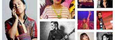 Sara Curruchich gestionó y coordinó la participación de las cantautoras para el Festival Abrazarte. (Foto Prensa Libre: Cortesía)
