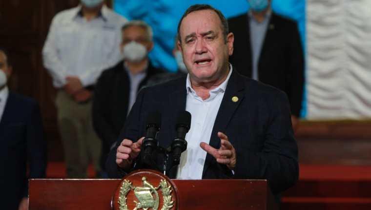 Presidente de Guatemala Alejandro Giammattei. (Foto Prensa Libre: Presidencia)
