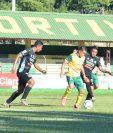 Marvin Ceballos fue uno de los anotadores en el empate 2-2 entre Guastatoya y Antigua GFC. (Foto Prensa Libre: Cortesía Guastatoya)