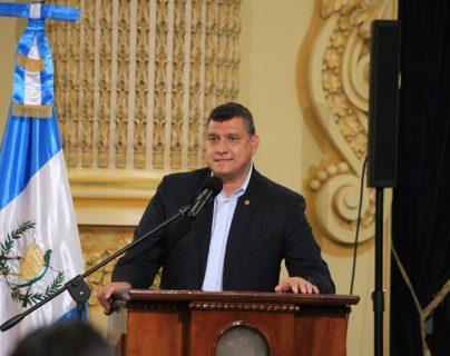 Guillermo Castillo, vicepresidente de Guatemala. (Foto Prensa Libre: Vicepresidencia)
