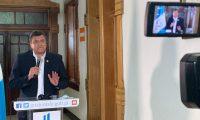 Guillermo Castillo, vicepresidente de la República. Foto Prensa Libre: Vicepresidencia