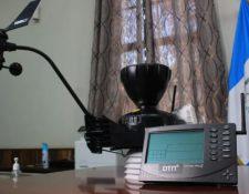 Una de las estaciones meteorológicas que el Insivumeh adquirió de Outsourcing Total, SA. (Foto: Hemeroteca PL)