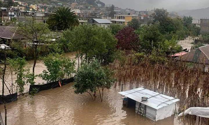 En total, ambas tormentas dejaron a 136 mil 616 familias afectadas en 120 municipios y 68 mil 539 hectáreas dañadas. (Foto Prensa Libre: Hemeroteca)
