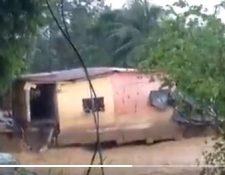 Las lluvias por Iota ya causan estragos en el país. (Foto: Conred)