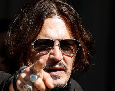 """Johnny Depp fue  obligado a abandonar su papel en """"Animales fantásticos"""". (Foto Prensa Libre: AFP)"""