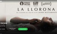 "La película ""La Llorona"" está disponible en la plataforma mowies. (Foto Prensa Libre: Captura de pantalla)"