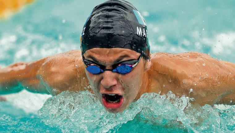La hazaña del nadador guatemalteco Luis Carlos Martínez, al romper un récord en el US Open