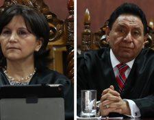 Gloria Porras y Francisco de Mata Vela, magistrados de la CC. (Foto: Hemeroteca PL)
