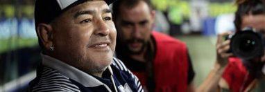 Maradona usaba sus redes sociales para compartir algunos momentos de su vida. (Foto Prensa Libre: AFP)