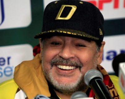 Maradona falleció el miércoles 25 de noviembre. (Foto Prensa Libre: Forbes)