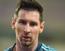 Messi explota al ser interrogado. (Foto Prensa Libre: AFP)