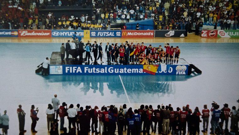 La Copa del Mundo que se celebró en el país marcó la historia del futsal masculino, aunque el femenino aún carece de apoyo. (Foto Prensa Libre: Cortesía)
