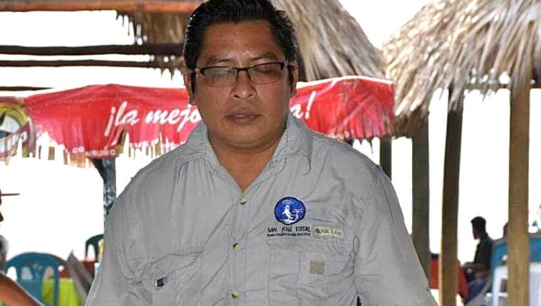 Mario Arturo Ortega García, periodista atacado en Puerto de San José.
