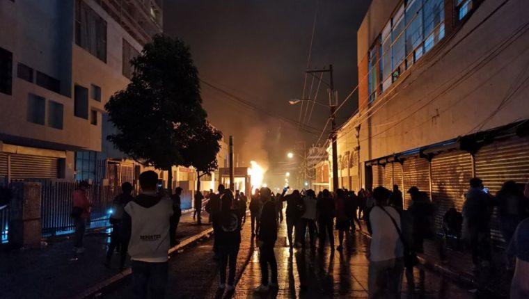 Organizaciones denuncian hechos de violencia y represión durante las protestas. (Foto: Hemeroteca PL)