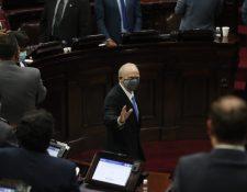 Roberto Molina Barreto ya tomó posesión del cargo de magistrado titular de la CC. (Foto Prensa Libre: Hemeroteca PL)