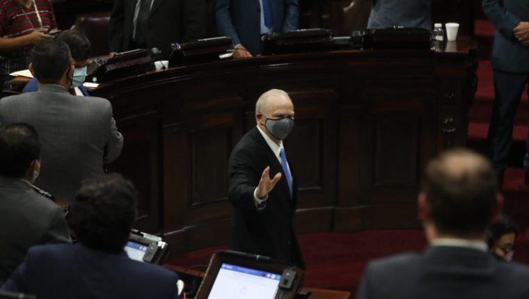 Roberto Molina Barreto tomará la presidencia de la nueva CC el 14 de abril. (Foto Prensa Libre: Hemeroteca PL)