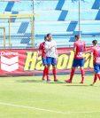 Ramiro Rocca anotó cuatro goles ante Iztapa y suma ya 19 tantos en el Torneo Apertura 2020. (Foto: Cortesía Municipal)